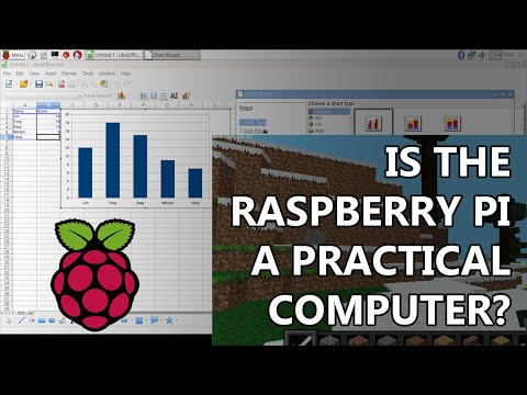 Raspberry Pi 3B Review - Is Raspbian Linux a real, practial desktop computer?