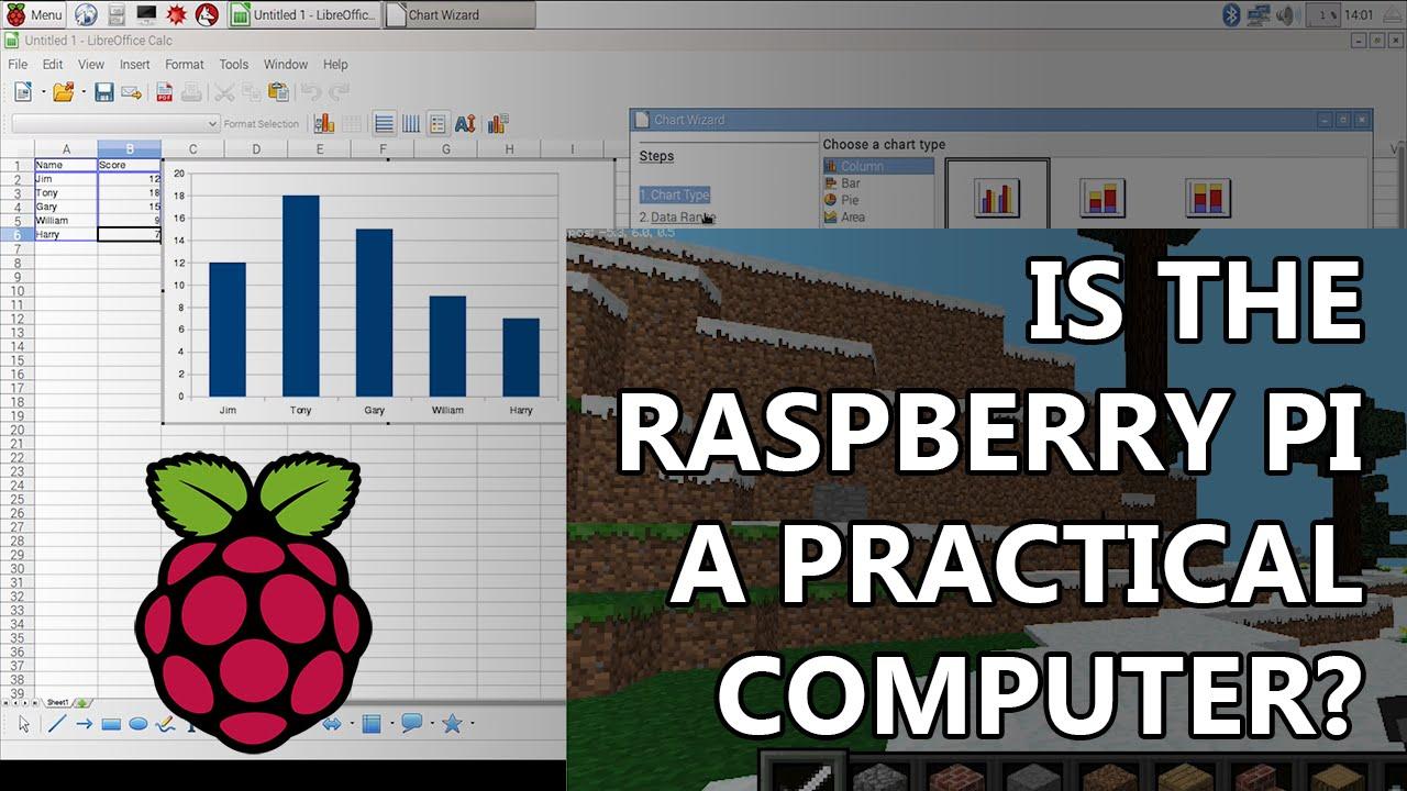 Raspberry Pi 3B Review - Is Raspbian Linux a real, practial desktop  computer?