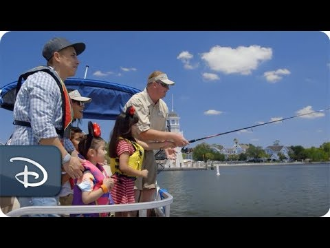 Fishing & Boating At Walt Disney World Resort With The Lorenzana Family