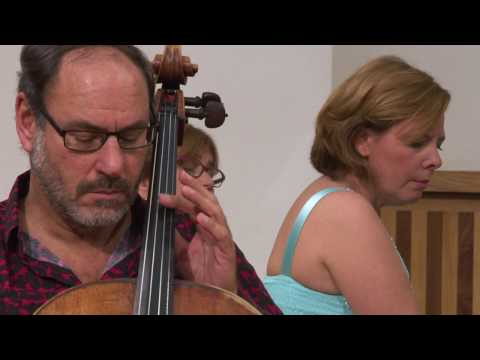Eliane Reyes and Gary Hoffman playing Debussy- Prologue