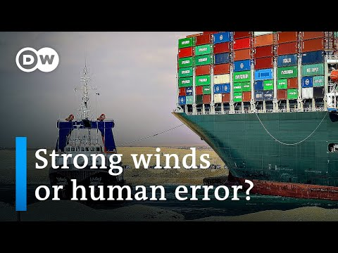 Suez Canal blocked: How to keep ships from running aground | DW News