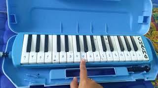 Gambar cover Not angka pianika Maju tak gentar