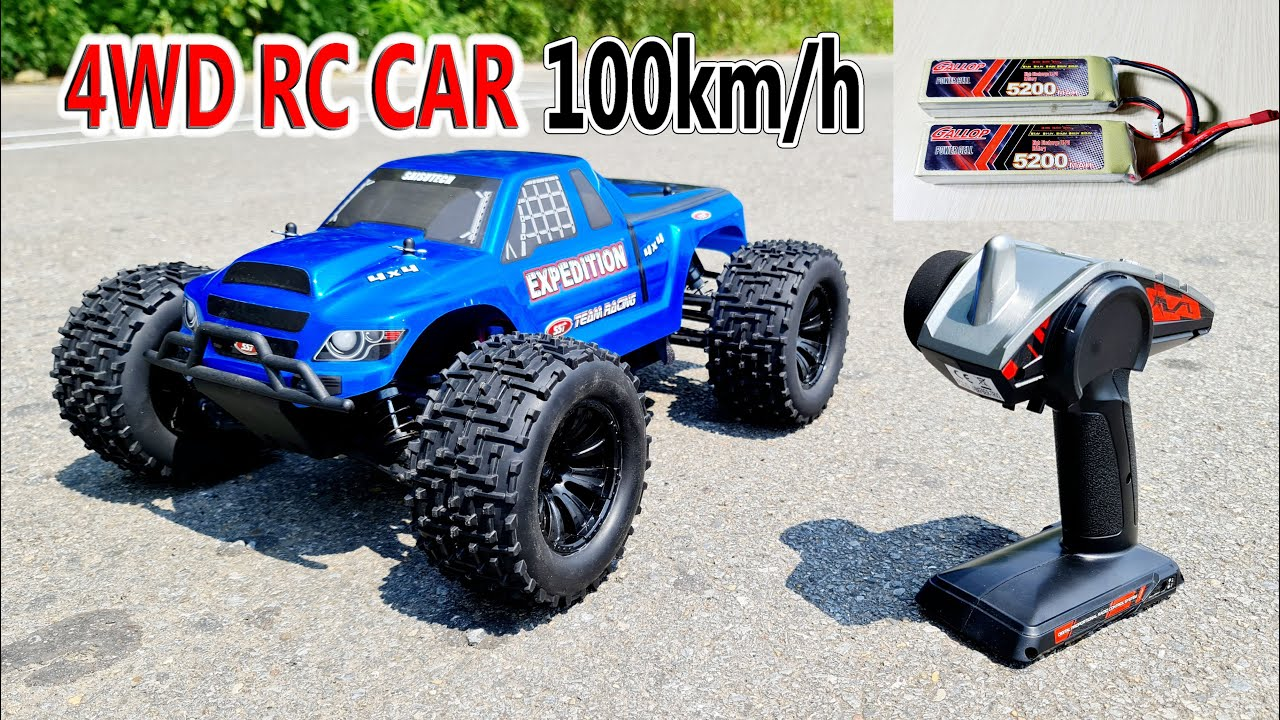 Unboxing an Test 100KM/H High Speed RC Car 4WD - SST 1999 Brushless Off road