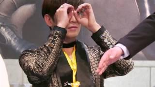 170122 신화(SHINHWA)  잠실 팬사인회  에릭ERIC  애교