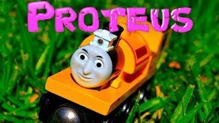Thomas The Tank Engine And Friends Character Proteus - Wooden Railway Toy Train Review By Mattel