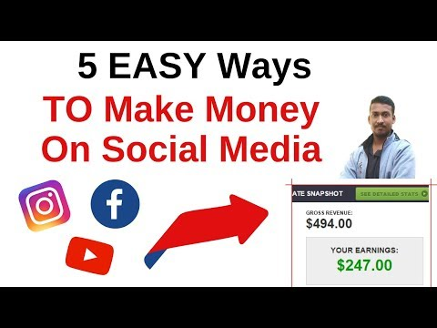 How To Make Money On Social Media in 2019 (5 Unique and EASY Ways!)