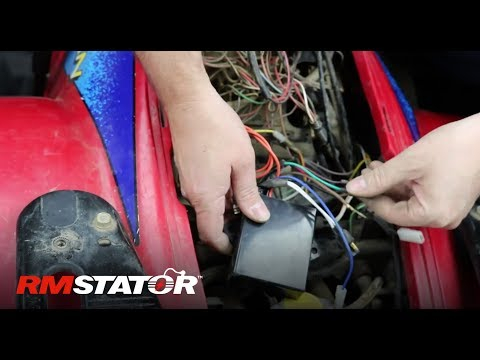 how to install a polaris stator & cdi ignition upgrade kit for 1995-2003 325  400 500 atvs rm40000 - youtube