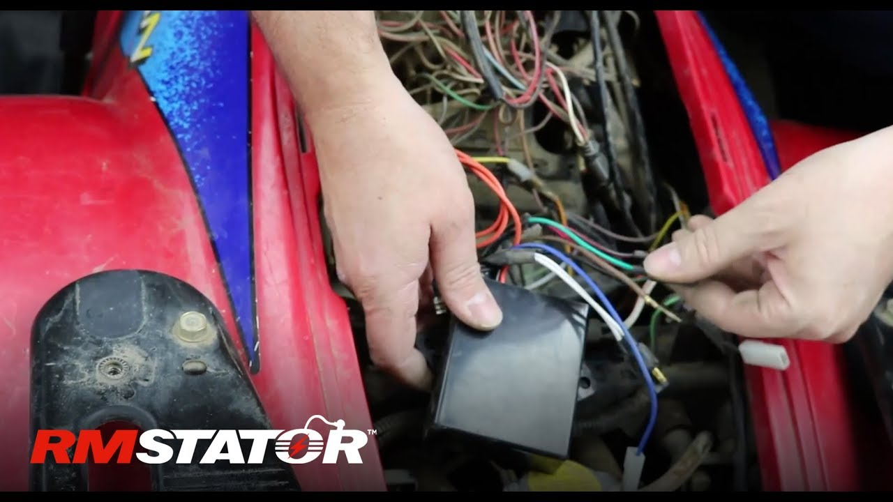 how to install a polaris stator cdi ignition upgrade kit for 1995 2003 325 400 500 atvs rm40000 [ 1280 x 720 Pixel ]