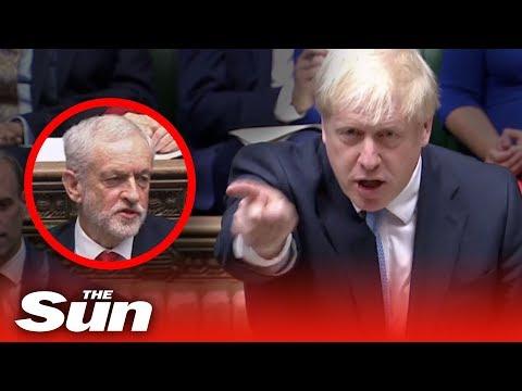 Boris Johnson's explosive
