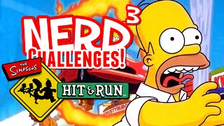 Nerd³ Challenges! The Simpsons: Hit & Run - FINISH IT!