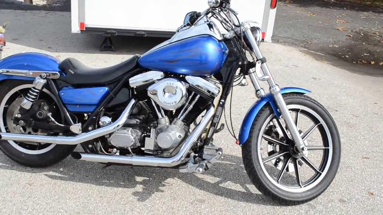 For Sale 1988 Harley-Davidson FXR at East 11 Motorcycle Exchange LLC