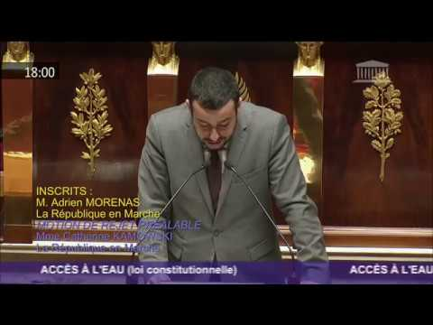 Proposition de loi constitutionnelle visant à faire de l'accès à l'eau un droit inaliénable