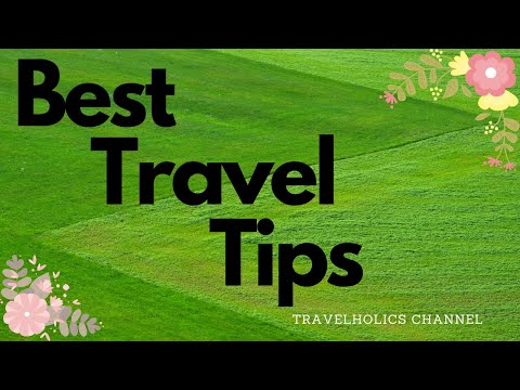 Tips you must do before traveling