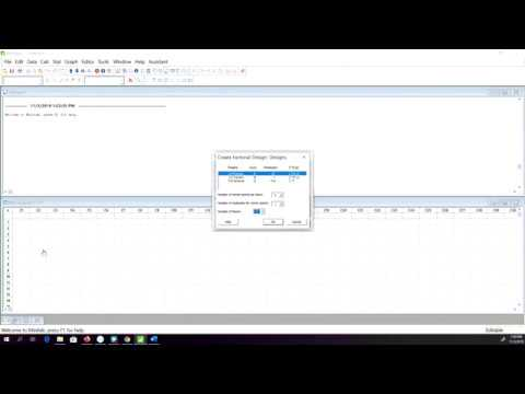 Introduction To Design Of Experiment Doe Analysis In Minitab Youtube