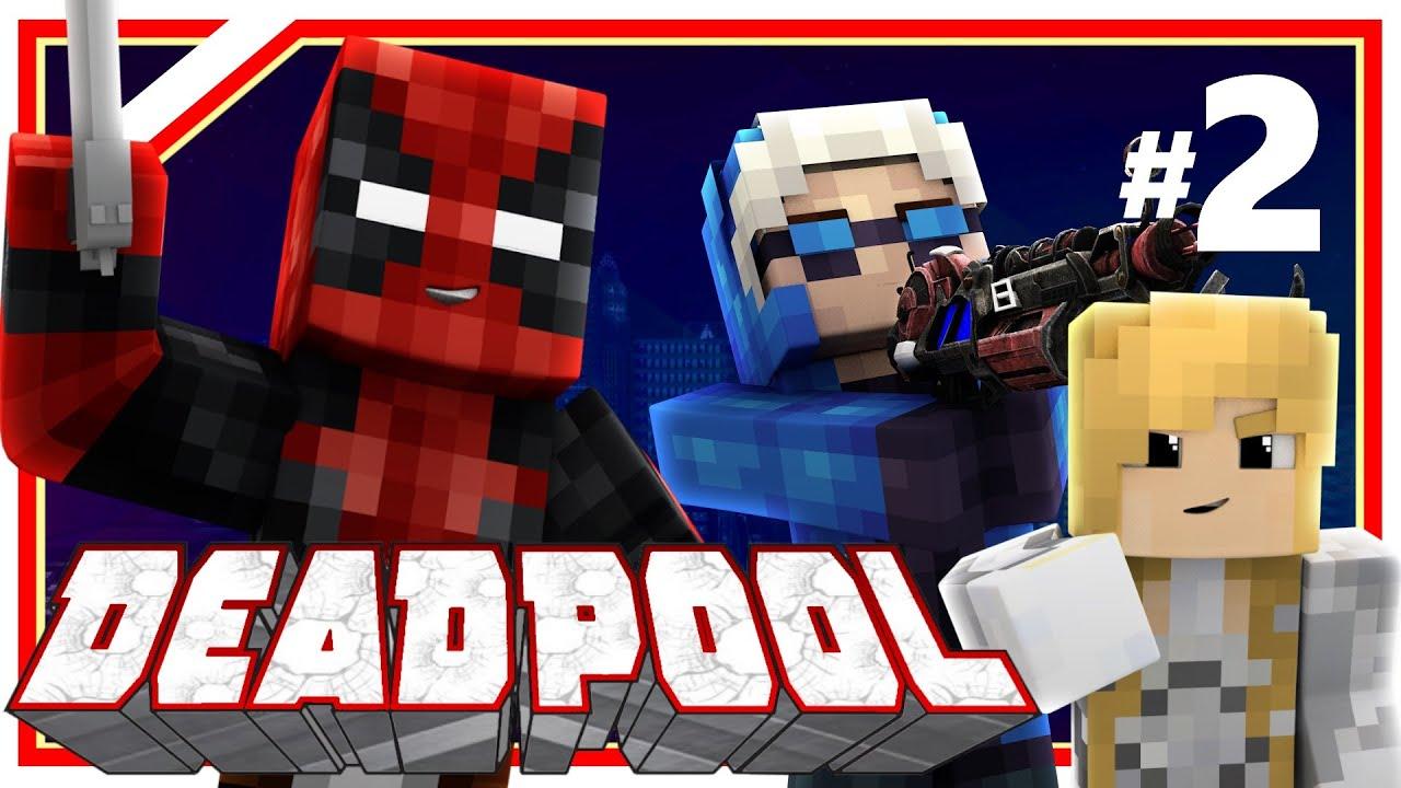 "Minecraft Deadpool #2: ""Legends of Tomorrow!"" (Minecraft ..."