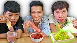 LamTV - Trận Chiến Chấm Mọi Thứ Với Mọi Thứ Nước Chấm | Eat everything dip with everything