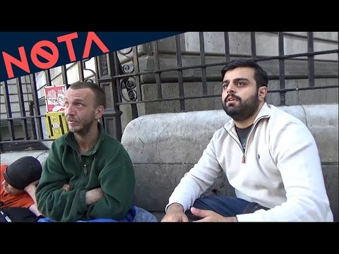 Talking to Homeless People in London - 11/09/2016