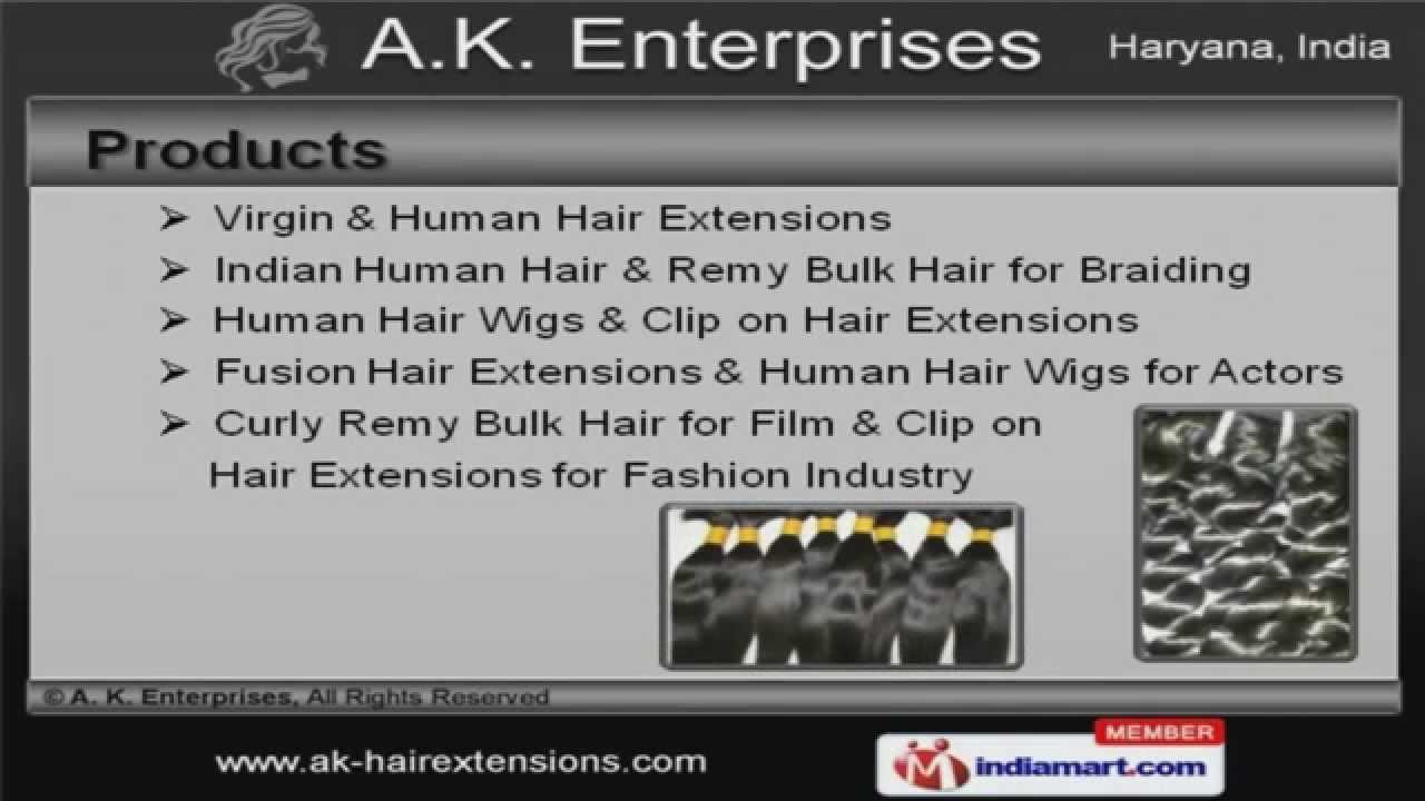 Hair extensions wigs by a k enterprises yamunanagar youtube hair extensions wigs by a k enterprises yamunanagar pmusecretfo Gallery