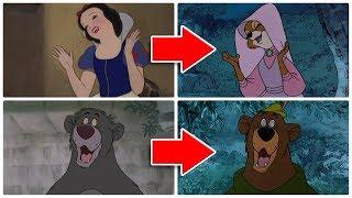 Ανακυκλωμένες σκηνές της Disney