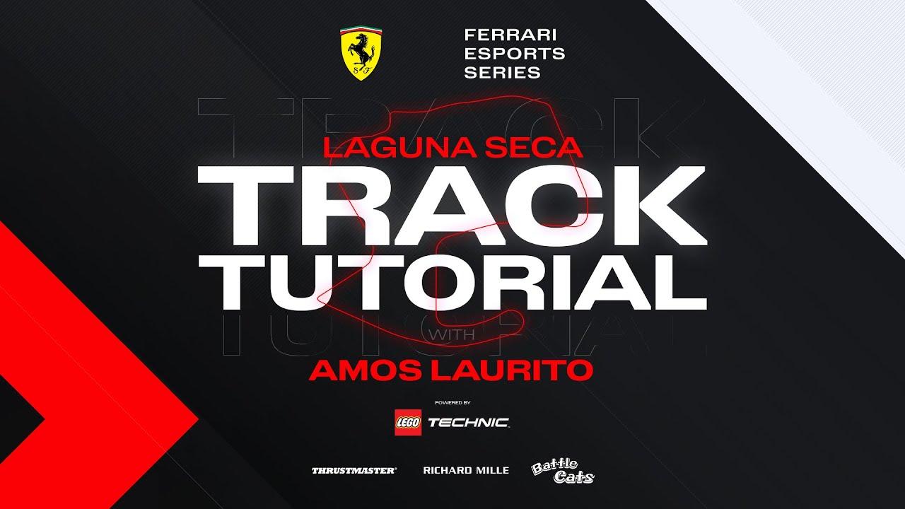 Ferrari 101 Assetto Corsa Laguna Seca Track Tutorial #02