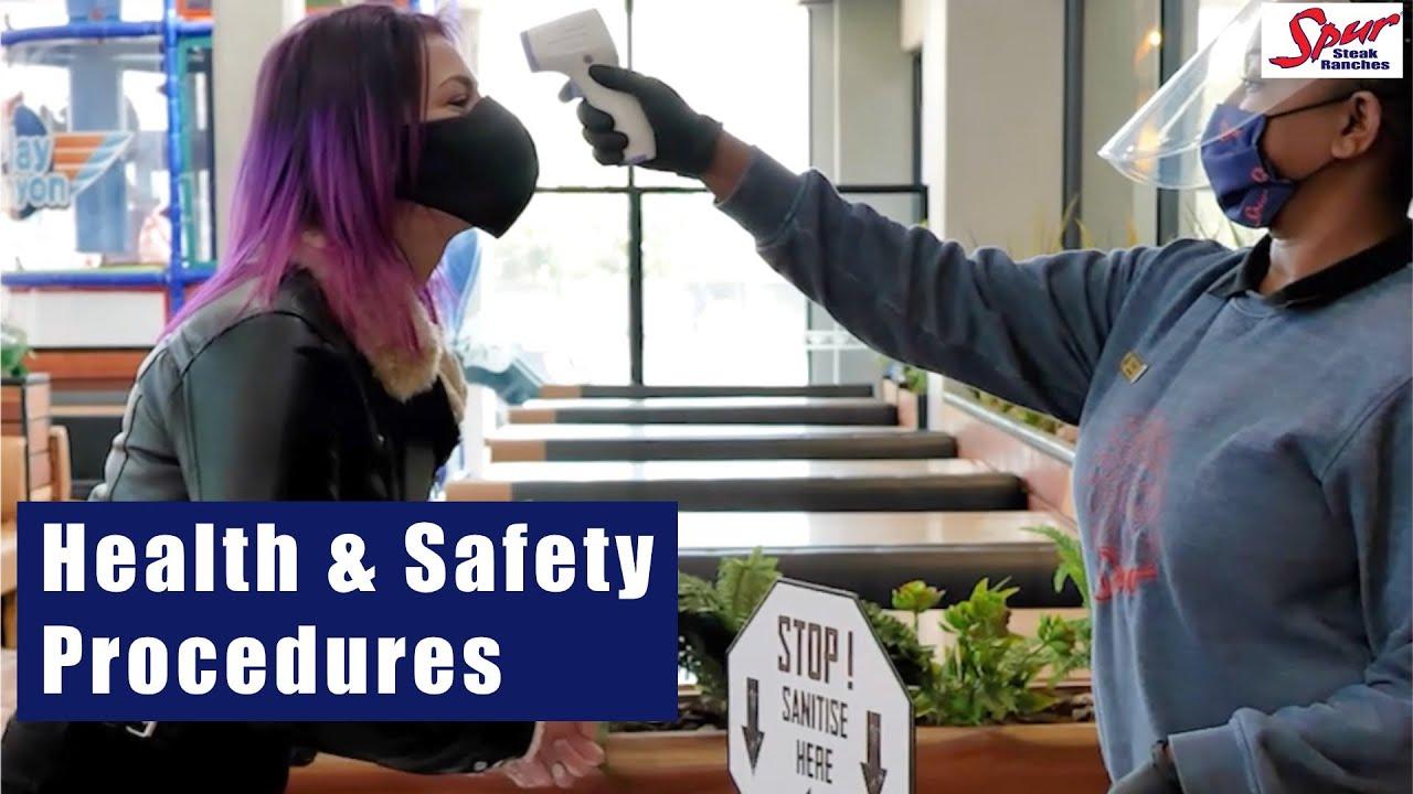 Spur's strict health & safety procedures