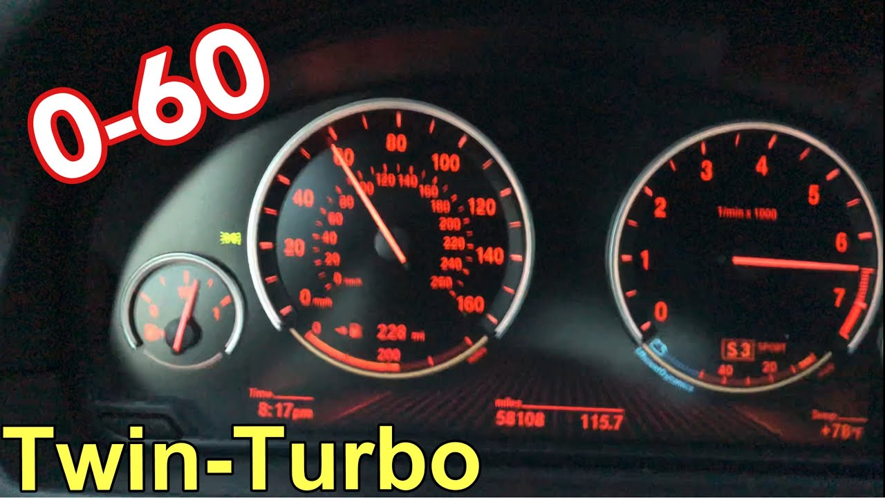 Bmw 550i Stock 0 60 Pull Youtube