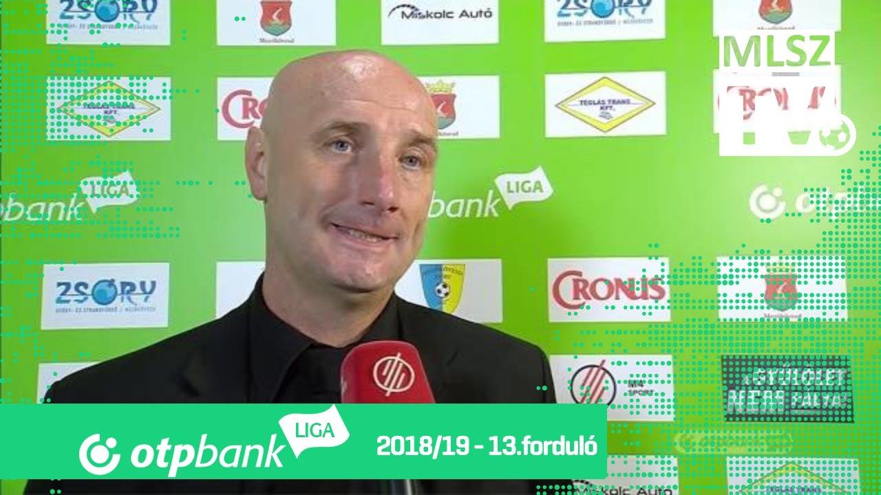 Edzői értékelések a Mezőkövesd Zsóry FC - DVSC mérkőzésen