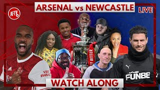 Arsenal vs Newcastle | Watch Along Live with Robbie, DT and Lee
