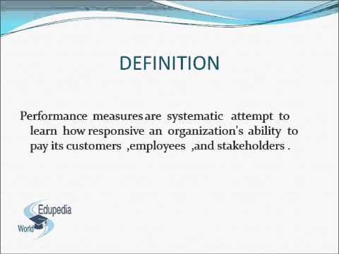 Supply Chain Performance Measurement