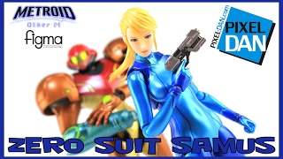 Metroid Zero Suit Samus Figma Other M Action Figure Video Review