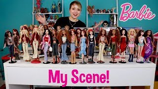 Barbie My Scene Collection with Chelsea, Madison, Noelee & Delancey Dolls