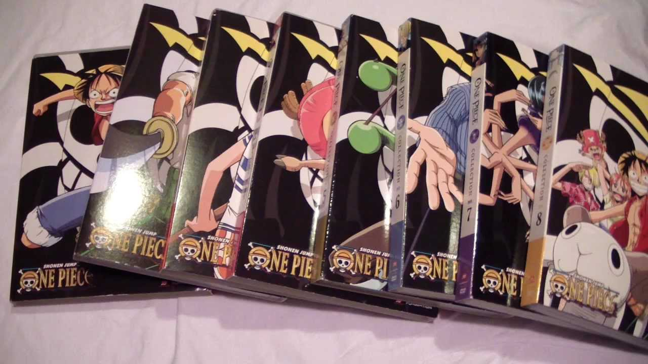 one piece collection 1 8 seasons 1 3 dvd unboxing youtube. Black Bedroom Furniture Sets. Home Design Ideas