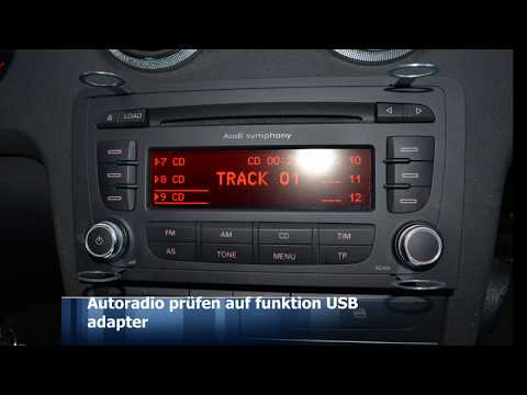audi a3 8p interface usb sd nachr sten youtube. Black Bedroom Furniture Sets. Home Design Ideas