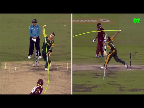 Dale Steyn Bowling Action HD Slow Motion