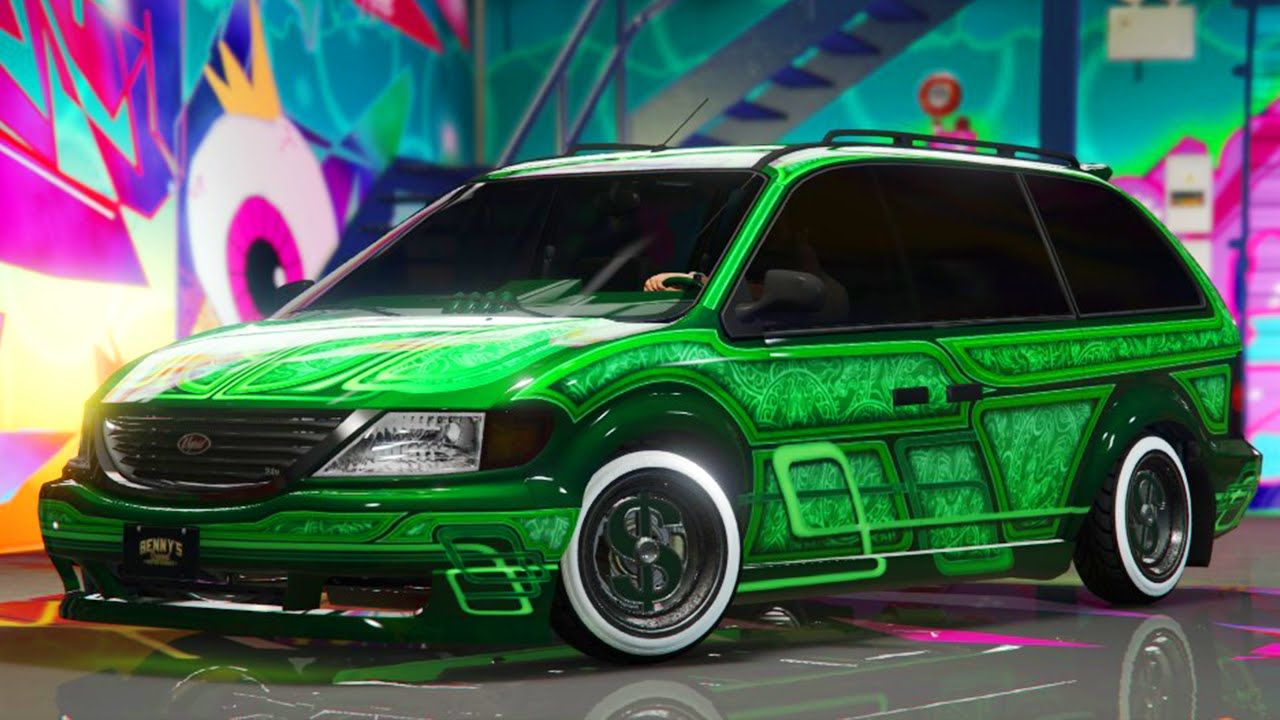 Gta 5 Update New Minivan Custom Customization Spending Spree Online You