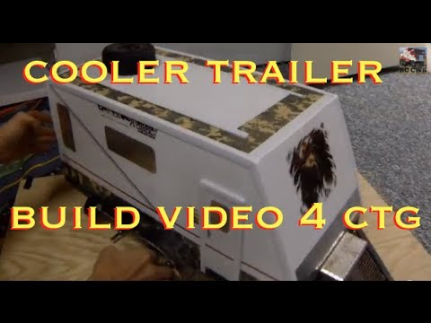 how to make fenders for a rc trailer