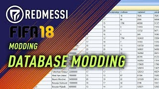 [FIFA18][FIFA17] Modding the game #11 Change Names in the Database