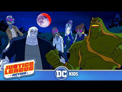 Justice League Action | Grundy and Friends