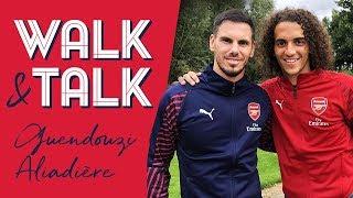 'This is just the start!' | Walk & Talk with Matteo Guendouzi & Jeremie Aliadiere
