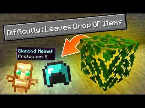 Download Minecraft, But Trees Grow OP Items | OCEAN GAMER