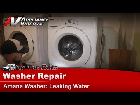 Amana Washer Repair - Leaking Water - NFW7300WW