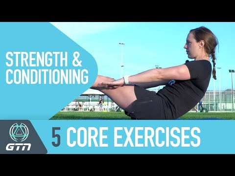 5 Core Exercises To Make Yourself Stronger | Strength And Conditioning For Triathletes