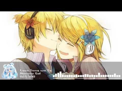 Nightcore - Love Song wa Tomaranai yo