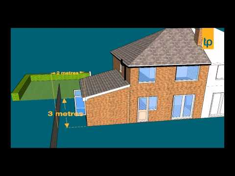 PD rights explained extension to the side of a house