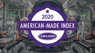 Cars.com's 2020 American-Made Index