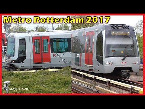Metro Rotterdam in April 2017
