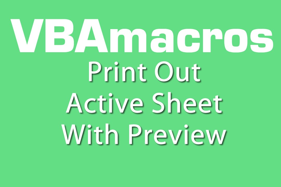 excel vba print sheet pdf