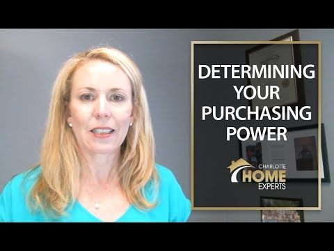 Charlotte Home Experts: Purchasing Power as a Buyer