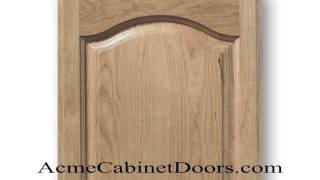 Unfinished Cherry Cathedral Arched Raised Panel Cabinet Door