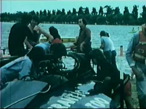 Frantic Too Power Boats 1974 Albert Park Pits